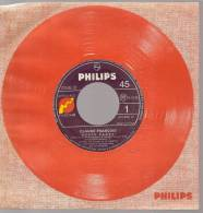 """45 Tours SP - CLAUDE FRANCOIS  - PHILIPS 370868 -  """" DOUCE CANDY """" + 1 ( JUKE-BOX ) - Other - French Music"""