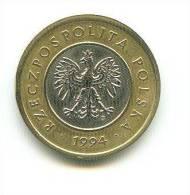 POLEN  2 ZLOTE  1994 - Pologne