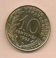 10 Centimes FRANCE 1993  Superbe - D. 10 Centimes
