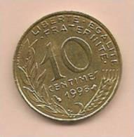 10 Centimes FRANCE 1998  Superbe - D. 10 Centimes