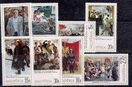 Albanie 1975 N°Y.T. :  1602 à 1609 ** - Albanië