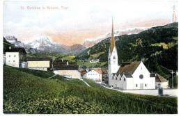 St. Christina In Gröden, Südtirol,Amonn J 5550,ca. 1910 - Non Classés