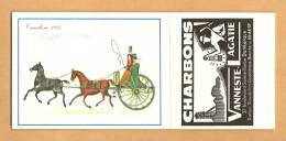 BUVARD  - CHARBON / CHARBONS VANNESTE  LAGATIE - DUNKERQUE  /  COUDEKERQUE BRANCHE - - Blotters
