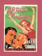 * CPM..Affiche Du Film : ARDID FEMENIMO - Affiches Sur Carte