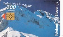 Slovenia, 104, Mountains, Triglav / Novi Dodatki (Pošta), 2 Scans. - Slovenië