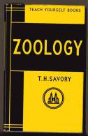 LIVRE - TEACH YOURSELF BOOKS - ZOOLOGY - T.H. SAVORY - 1962 - 184 PAGES - NOMBREUSES ILLUSTRATIONS - Books, Magazines, Comics