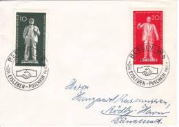 DDR Mi.-Nr. 772-773 Sonderstempel Bedarfsbrief - DDR