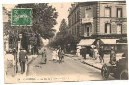 CABOURG  La Rue De La Mer - Cabourg