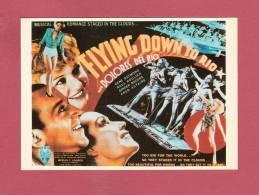 * CPM..Affiche Du Film : FLYNG  DOWN  TO  RIO ( 1933 )..Scan A - Affiches Sur Carte