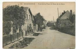 Ruminghem 25 Pont Place Et Rue De La Gare  Cachet Sapeur Telegraphiste Genie Guerre 14 - Autres Communes