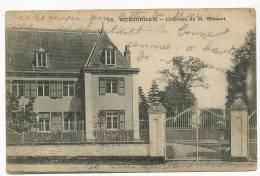 Ruminghem 18 Chateau De M. Masset   Cachet Sapeur Telegraphiste Genie Guerre 14 - Autres Communes