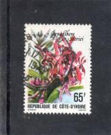 COTE D´IVOIRE : Fleur : Renanthera Storieri - Orchidée - - Ivory Coast (1960-...)