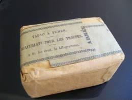 Rare Paquet Non Ouvert De Tabac Scaferlati Pour Les Troupes Armée 100g Année 1921 - Non Classés
