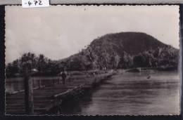 Madagascar - Mananjary (envoyée De) Pont De Planches (1956); 2 Trous D´épingles Milieu En Ht Et En Bas(scan) (-472) - Madagascar