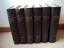 DICTIONNAIRE ENCYCLOPEDIQUE QUILLET 6 Tomes - Encyclopedieën