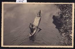 Madagascar - Mananjary, Pirogue, Rameur Et Sa Récolte Sur Le Canal Des Pangalanes (1958) (-475) - Madagascar