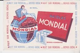 Buvard Matelas Mondial - Carte Assorbenti