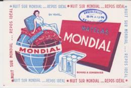 Buvard Matelas Mondial Tampon Braun Sens - Carte Assorbenti