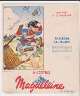 Buvard Biscottes Magdeleine Fanfan La Tulipe N°5 - Biscottes