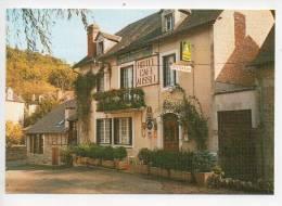 Ref 97  : CPSM 46 SARRAZAC Hotel Restaurant De La Bonne Famille AUSSEL - Autres Communes