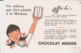 Buvard Chocolat Menier - Cacao