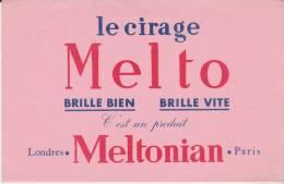 Buvard Cirage Melto Meltonian - Buvards, Protège-cahiers Illustrés