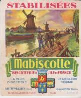 Buvard Mabiscotte - Biscottes