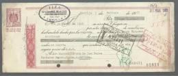 CLASE 15.ª - BANCO HISPANO AMERICANO - TIZA - SEVILLA - 1965 - G8909671 - Bills Of Exchange