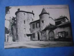 43-AUREC SUR LOIRE Le Chateau , Dos Vert - Francia