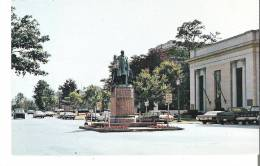 The Statue Of Roswell Pettibone Flower (1835 - 1899) Stands On A Pedestal, Watertown, New York - NY - New York
