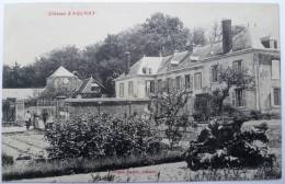 51 : Chateau D'Aulnay à Aulnay-aux-Planches - Animée - Domaine De Mme De La Grandville & Comte De Saint-Genis Romécourt - Autres Communes