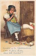 Liqbich - Coudre à La Gütermann.. C'est Se Faire Aider Dans Son Travail !, 1934 - Illustrateurs & Photographes