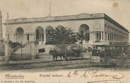 Montevideo Hospital Italiano Edit Marchetti Circulada 1903 Tramway Tranvia - Uruguay