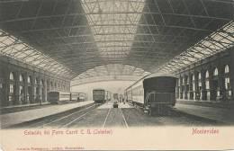Montevideo   Vista Interior De La Estacion Del F.C.C. Train Ferrocarril  Edit Testasecca - Uruguay
