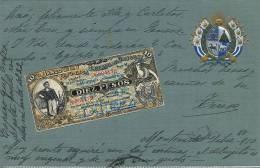 Uruguay Billete De 10 Pesos De Relieve , Embossed , Gaufrée, Billet, Bill - Uruguay