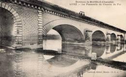 Mansle - La Passerelle Du Chemin De Fer  L15 - Mansle