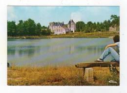Nov12  7257788    Mayet     Plan D'eau Et Chateau - Mayet