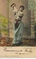 Constantinople Costume Orientale Danse Du Ventre Levant Type Sage Zuhdi Bey 1904 - Turkije