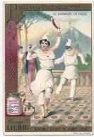 -Chromo LIEBIG - Série Complete De 6 Cartes - Le Carnaval En Itale TTB - Liebig