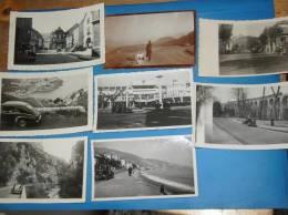 8 Photos Originales Ancienne Voiture Automobile Traction A Identifier - Automobiles