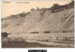 10474g CARRIÈRES De MONTFORT - Poulseur - Comblain-au-Pont