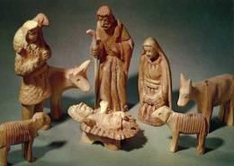 Creche, Carnet Format CP, Sujets En Bois - Cristianesimo