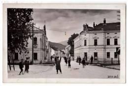 EUROPE BOSNIA BIHAĆ CITY AREA OLD POSTCARD 1941. - Bosnia And Herzegovina