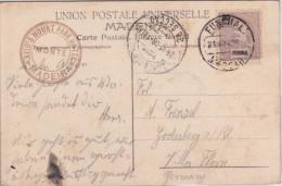 MADEIRA - 1908 - CARTE POSTALE De FUNCHAL Pour GODESBERG (GERMANY) - Funchal