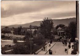EUROPE MACEDONIA STRUGA THE BRIDGE OVER THE RIVER DRINA PARTLY DAMAGED OLD POSTCARD - Macedonia