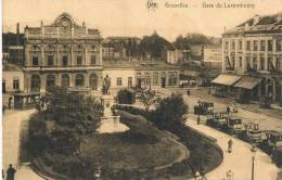Bruxelles  Gare Du Luxembourg  1927 - Chemins De Fer, Gares