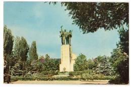 EUROPE KOSOVO ĐAKOVICA THE MONUMENT OLD POSTCARD 1935. - Kosovo