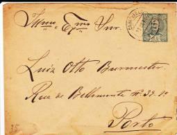 PORTUGAL - 1905 - ENVELOPPE ENTIER POSTAL De LOUSADA Pour PORTO - Entiers Postaux