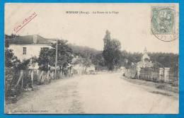 MIMIZAN Bourg    La Route De La Plage  écrite En 1906 - Mimizan