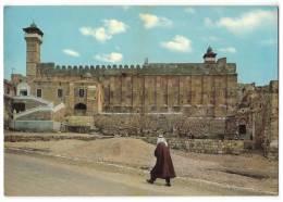 ASIA JORDAN MIDDLE EAST MOSQUE HEBRON GENERAL VIEW IBRAHIM EL KHALIL OLD POSTCARD - Jordan